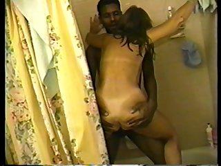 cuckold's wife black fucked in shower