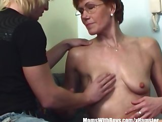 Hairy Pussy Redhead Stepmom Teen Couch..