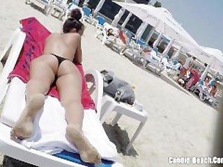 Thong Ass Bikini horny Milfs Beach..