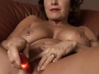 Gorgeous granny with nice big tits fucks..