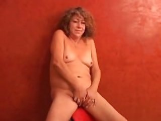 Super sexy shy old spunker plays with..