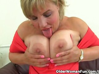 British milf Danielle will let you feast..