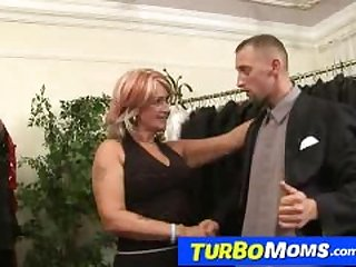 Hungarian grandma Judit has sex with a..