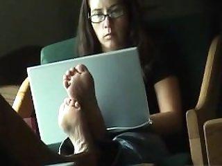 Candid Mature Milf Feet