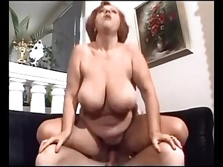 Mature Woman With Big Saggy Boobs 3-..