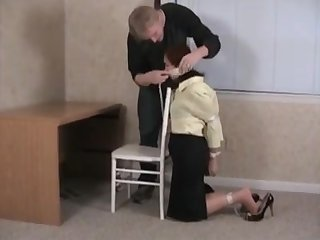 bondage in the office