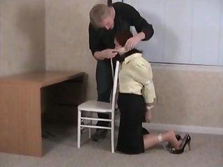 bondage in the office