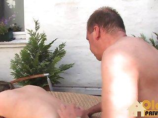 Sexparty bei schoen Wetter