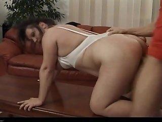 Tabea - Kinky Mature Brunette Fucks In..