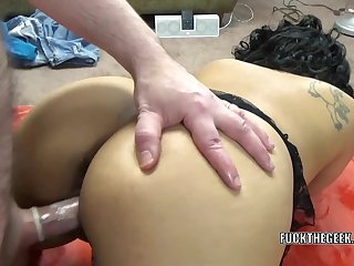 Latina wife Dolly Naught takes a dick in..