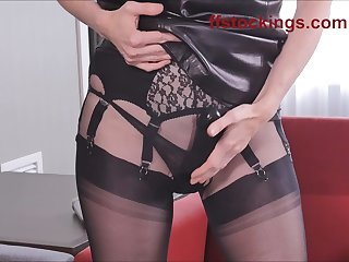 Mature Nylon Strap On Kink