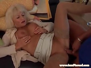 Im Pierced MILF with pussy rings riding..