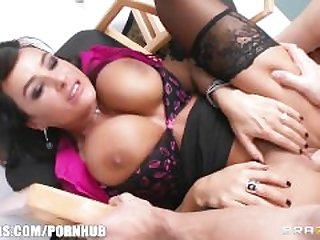 Big-tit MILF Lisa Ann Is slammed by hard..