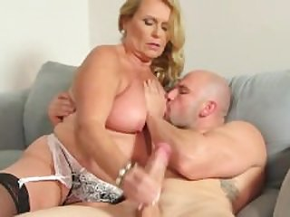 Sexy Granny and young guy