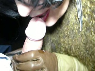 Milf takes the train in crotchless..