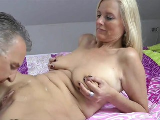 Hot Blonde Wife Cucks Hub & He..