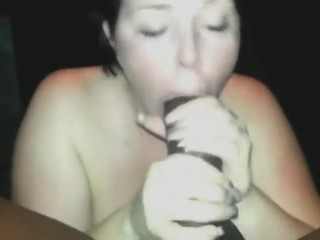 Hot naughty chubby blowjob BBC - amateur