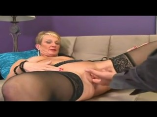 Mature Woman Fucked By Young boy