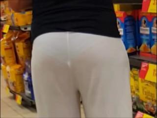 hot mature 40 yo  see throught pants..