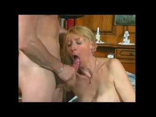 Busty French Mature Fuck And Suck