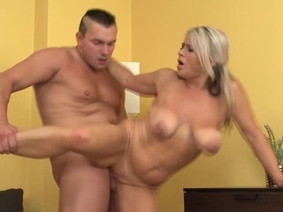 Mature busty sluts take young dicks
