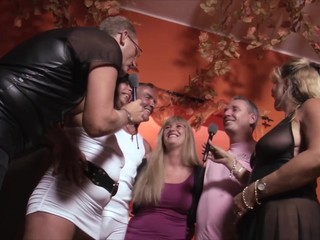 German Mature Swingers having fun